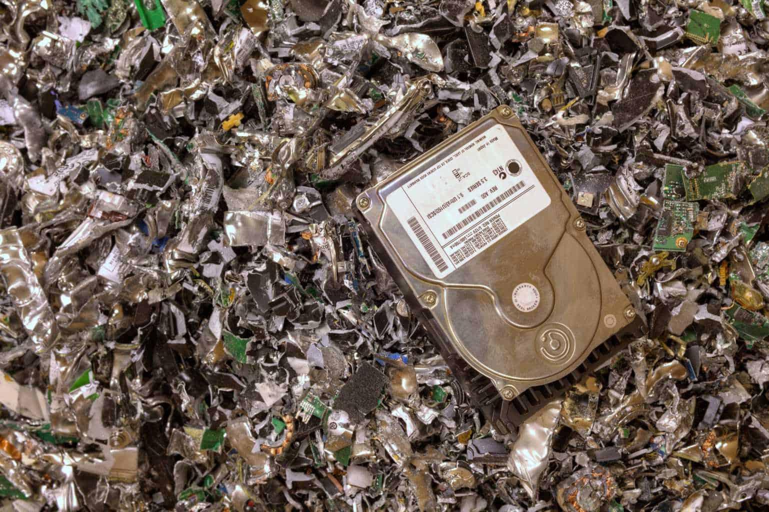 hard drive destruction services